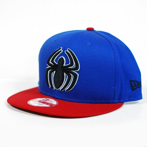 New Era - Casquette Snapback Homme Spiderman 9Fifty Reverse Hero - Taille M/L