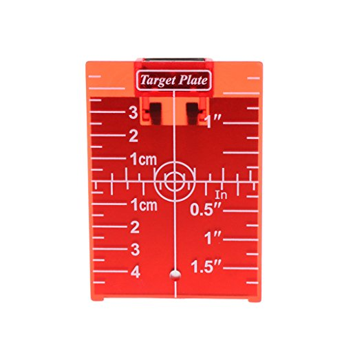 Magnetische rote Zielscheibe für Drehkreuzlinienlaser Entfernungsmesser
