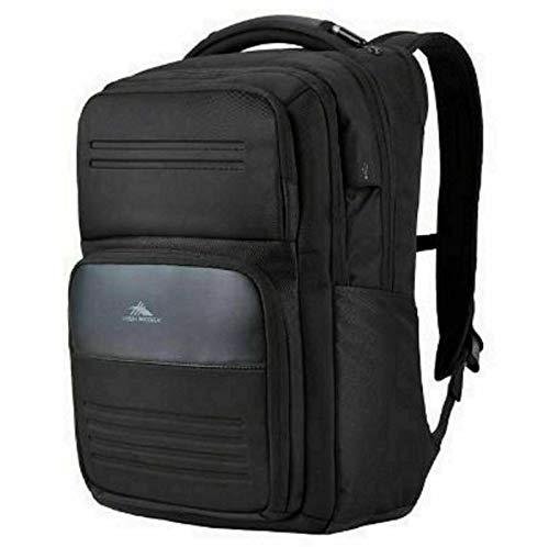 High Sierra Elite Pro Business Backpack Black