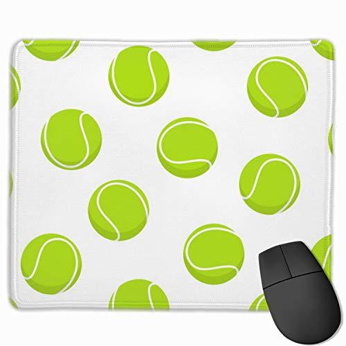 1Tennis Balls - C18BS_57024 Mouse pad Custom Gaming Mousepad Nonslip Rubber Backing 9.8