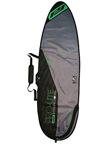 ProLite Funda para Tabla de Surf, Argent/Jaune, 5'10'