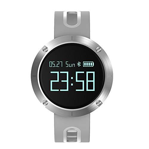 #N/V DM58 - Pulsera inteligente para hombre y mujer, diseño profesional, monitor de sueño, podómetro, pulsera inteligente
