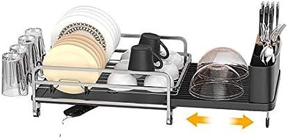 Dish rack expandable
