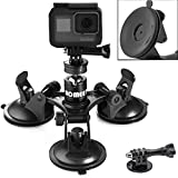 Homeet Super Auto Supporto Ventosa Potente Treppiede Mount Parabrezza Action Cam Suction Cup...