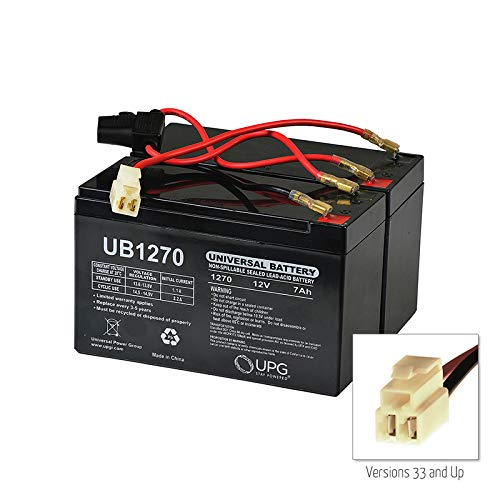 Monster Motion 24 Volt Battery Pack (High Capacity 9 Ah) with Harness for the Razor MX350, Versions 32+