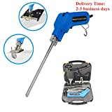 110V Hand Held Electric Foam Hot Cutter Knife Grooving Carving Knife Sculpture Styrofoam Sponge Cutting with Blades & Accessories (Full Set)