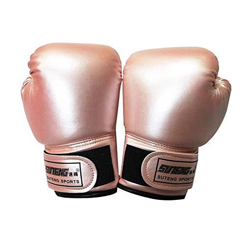 Kinder Boxhandschuhe, 2pcs Kinder Boxhandschuhe mit Klettschluss Klein Box-Handschuhe für Kinder von 3-10 Jahre Training Gloves (Rosa)