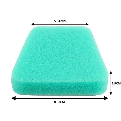 Dalom 530037793 Air Filter Cleaner for Poulan Pro Craftsman Chainsaw Parts (Pack of 5)