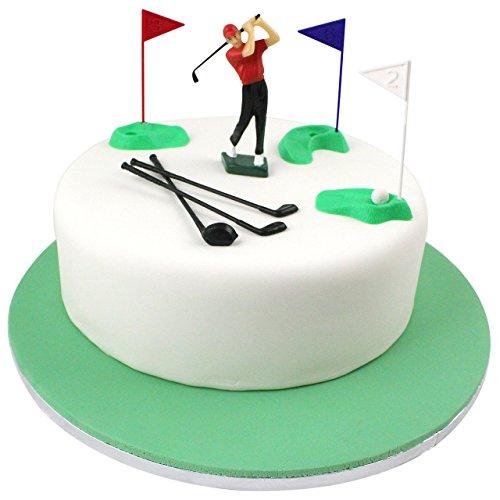 PME Golf Dekorationen/Kunststoff Zahlen, grün/rot/blau/weiß/schwarz, Set 13 - 9