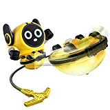 kingduos Spinning Top Robot Toys, Multi-Function Mini Spin TopToys for Kids, Push and Pull Car Toy, Gyro Battle Game, Novelty Bulk Toys Party Favors or Decor, Wind Up Toys for 4 to 8 Years Old Kids