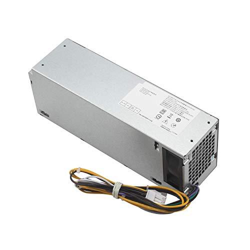 HotTopStar L240AM-00 - Fuente de alimentación de repuesto para Dell Optiplex 3040 5040 7040 3650 3656 (SFF) H62JR THRJK 4GTN5 D7GX8 HGRMH 2P1RD 3RK5T H240EM-00 B024NM-00 HU240AM-00 AC240EM-00