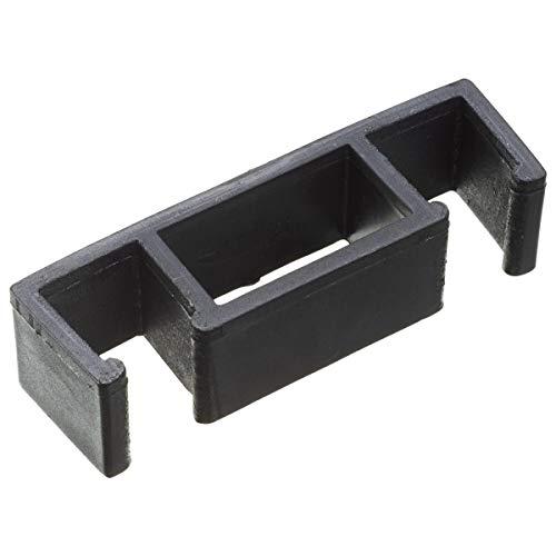 VEGA 30045368 Reihenverbinder für Bankett-Stühle, 2.6x2.8x9.8 cm (BxHxL), schwarz, 10 Stück