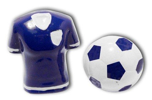 Sports Cufflinks - CU0365BL - Boutons de manchette Homme - Rhodium - Or