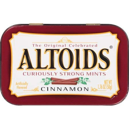 Altoids Mints Cinnamon 176 oz Pack of 2