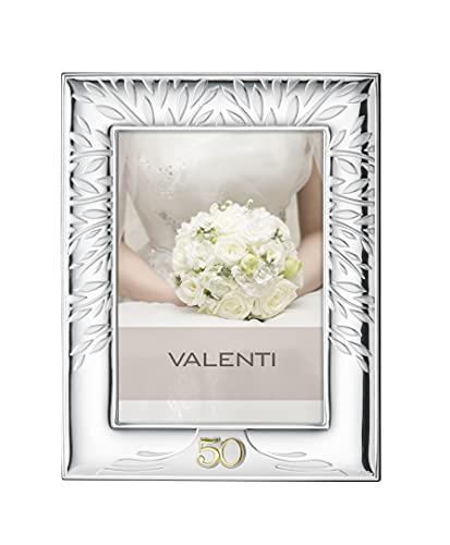 Cornice in argento con albero della vita 50 anni di matrimonio Valenti Argenti per 50 anniversario di Matrimonio