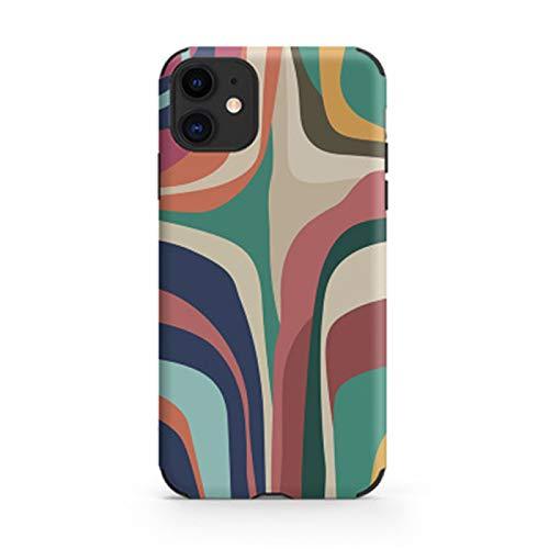 Funda para teléfono móvil de TPU ultrafina, para iPhone XR, para varios modelos de teléfonos móviles Apple [a prueba de goteo, antideslizante]