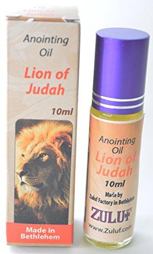Zuluf Lion of Judah Anointing Oil Holy Land Israel 10ML Bottle Roll On Blessing Oil