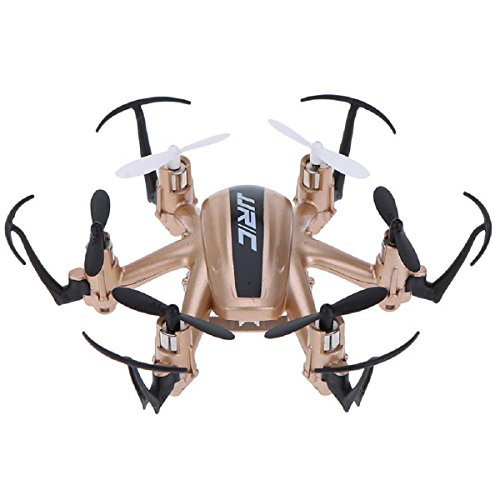 Headless RC Quadcopter, Megadream 2.4 G 4 CH 4-Channels 6 Axis RC rtf Drone Quadcopter UFO, 360 gradi Roll Over per sideward Lotta su/giù, sinistra/destra, avanti/indietro, accelerare, 3d Rock Roll Spin, Slow Down con telecomando wireless 2.4 ghz e luce LED