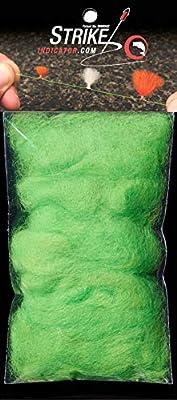 New Zealand Strike Indicator Wool - Green