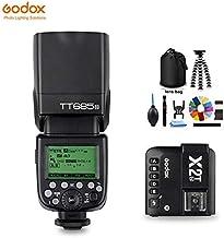 الفلاش - Godox TT685 TT685N Flash TTL HSS Camera Speedlight with X2T-N TTL Transmitter for Nikon D7500 D5600 D850 D500 D4 D5 BPUP-4000124288310-003