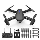 Volbaby Drone with Camera for Adults RC Quadcopter 4K HD Camera WiFi FPV Foldable 4CH 2.4Ghz Remote Control Headless Mode 30 Minutes Flight Time 2 Batteries