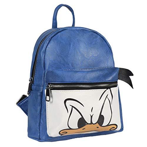 Cerdá 2100002366 Mochila Casual Moda Disney Donald, Azul, 25 cm