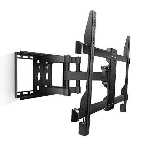 Soporte de Pared para TV,Soporte para TV - Placa Posterior Gruesa Soporte Giratorio retráctil Adecuado para la mayoría de televisores de Pantalla Plana de 40-70 Pulgadas de 600x400 mm