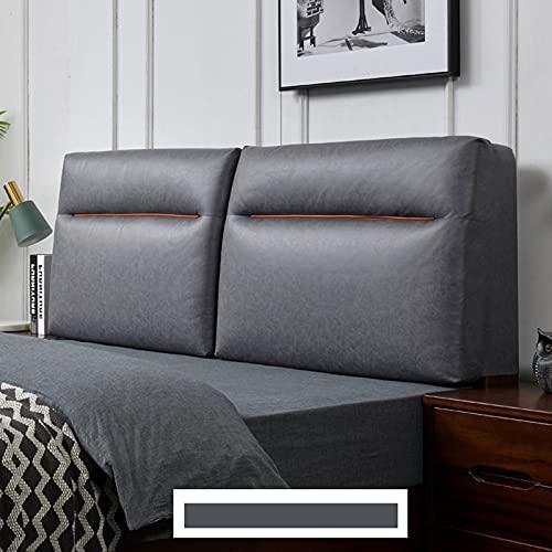 HXFAFA Cabecero Cojines, Posicionamiento Suave Curva Esponja de Alta Elasticidad, Cojín de La Cabeza de La Cama, para Sofá Cama Dormitorio