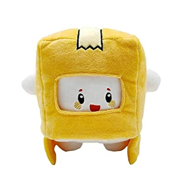 Boxy and Foxy Plush Anime Lanky Toys Rocky Box Soft Stuffed Plushies Removable Cute Robot Doll (A) by