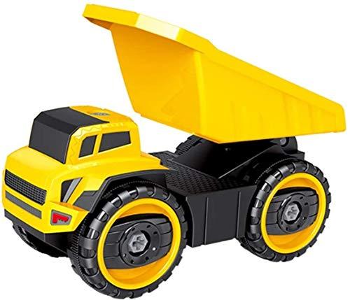 Durable Coche de juguete ingeniería de fundición a presión de vehículos de construcción carro de descarga del camión excavadora de metal mezclador modelo de recogida de extracción posterior del coche