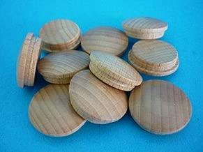1 Packung Holz Abdeckkappen 5025 Buche ged/ämpft 25 mm
