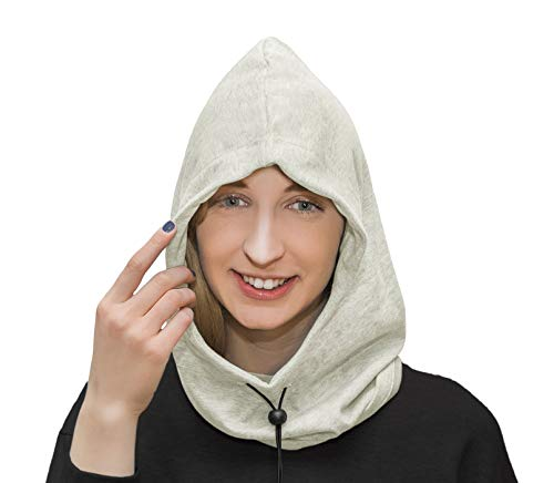 EMF Protection Hood Hat, Anti Radiation Fabric, EMF Protection and RF Shielding Grey