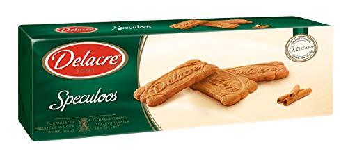 Delacre Speculoos - Knuspriges Zimtgebäck - Kaffeegebäck karamellsiert mit braunem Zucker - Kaffee Kekse, 4er Pack (4 x 250 g)