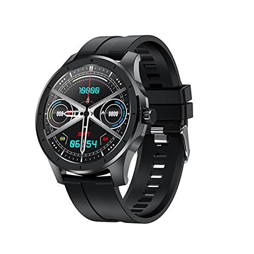 KKZ Smart Watch Men's Podometer Watch IP68 Impermeable Soporte Android iOS GPS MX10 Nuevo Reproductor de música,D