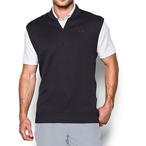 Under Armour Men's Storm SweaterFleece Vest, Asphalt Heather/Asphalt Heather, Small