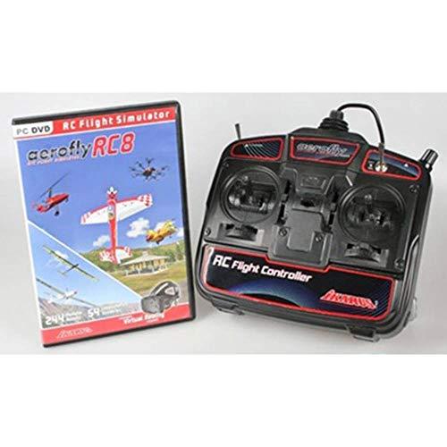 ikarus Flugsimulator Aerofly RC8 + USB-RC