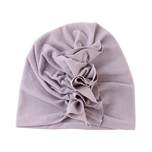 ATATMOUNT Nette Neugeborene Kinder Baby Mädchen Turban Blumenkopf Wrap Verstellbare Indien Hut Bonnet Beanie Hüte