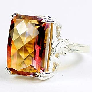 twilight fire topaz ring