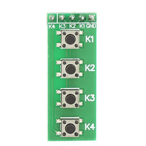Universal 4 Key Push Button Switch Modul Keyboard Board für Arduino DIY KIT