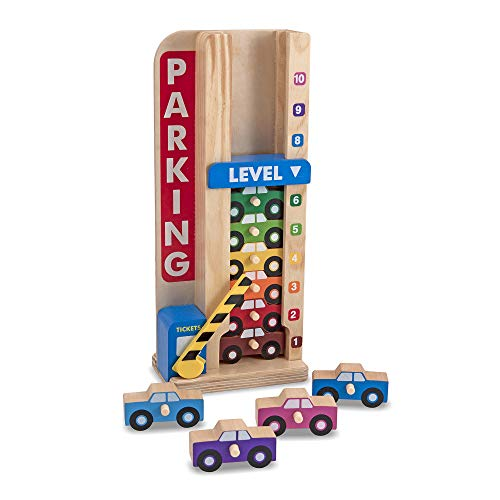 Top parking garage toy wooden for 2020
