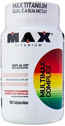 Multimax Complex - 90 Cápsulas, Max Titanium
