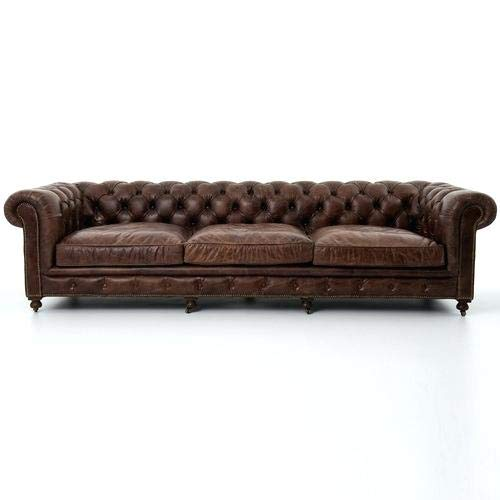 JVmoebel Chesterfield Design Polster Couch Leder Sofa Garnitur Luxus Textil 5Sitzer #166