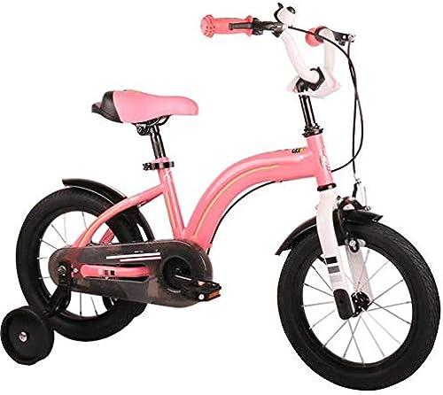 Axdwfd Kinderfürr r Kinderfürr r 12 14 16 Zoll, kohlenstoffhaltiger Stahl Kinderfürrad mit Rad für Fortgeschrittene Geschenk für 2-8 Jahre alte Jungen und mädchen
