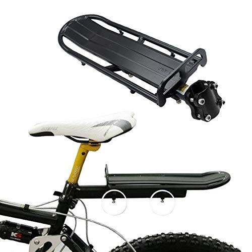 Portabultos Bicicleta Portabicicletas ajustable del sostenedor de bicicletas al portaequipajes aleación de aluminio de soporte for bicicleta trasera del asiento del estante del tronco for la bicicleta