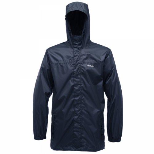 Regatta Pack-It Regenjacke für Herren, Blau (Navy), Gr. Small