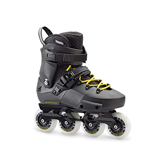 Rollerblade Twister Edge, Pattini Urban Unisex Adulto, Nero, 39