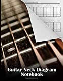 Guitar Neck Diagram Notebook: 120 Pages / Music Paper NoteBook / Guitar Neck Diagrams / 5 Fret Boards Per Page / 17 frets per page / Diatonic Scale Guitar Modes quick reference / blank neck diagrams