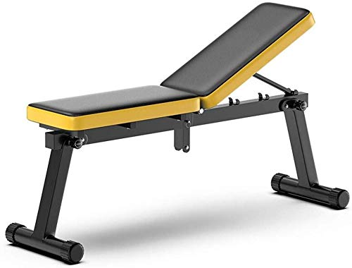 JLDN Utility Weight Bench Adjustable, Foldable Workout Benchs Incline Bench Press Exercise Gym Bench...
