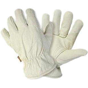 Luxurious Premium Hide Gardening Gloves Large