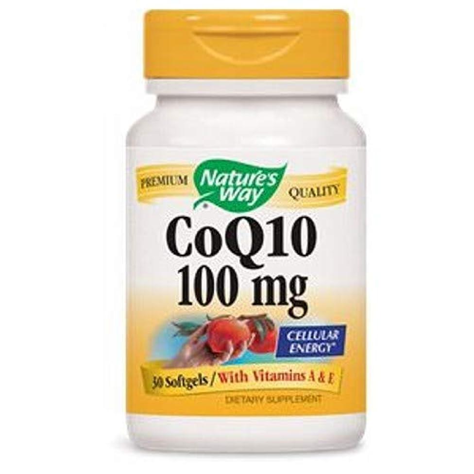 Nature's Way CoQ10 100mg 30 softgels
